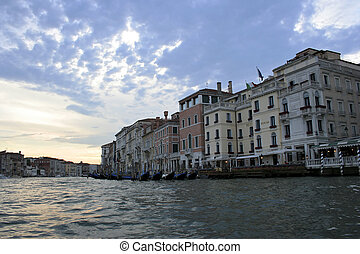 Gran Canale - The Gran Canale in Venice, Italy