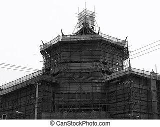 China under construction