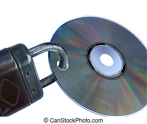data security, copy protection, disc with closed