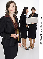 Serious Business - A serious and confident business woman...