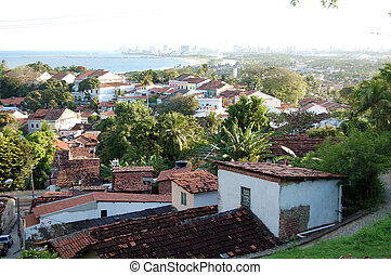 Typical sight of the city of olinda - Typical sight of the...