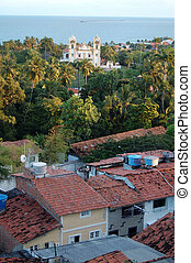 Typical sight of the city of olinda
