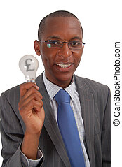 Money Ideas (£)Money Ideas (?) - This is an image of a man...