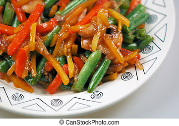 stir fried food - yummie stir fried food
