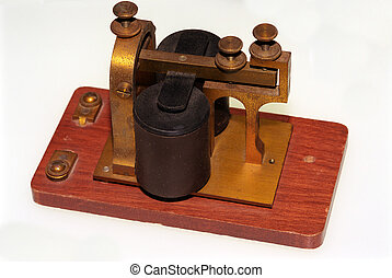 Railroad telegraph 2 - Railroad telegraph receiver for...