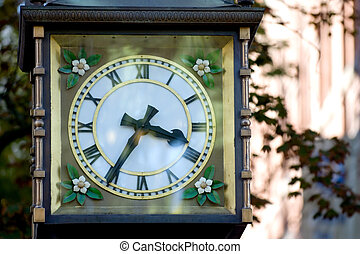 Steam clock - Famous Vancouver landmark in Gastown