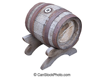 barrel with stand from oakwood
