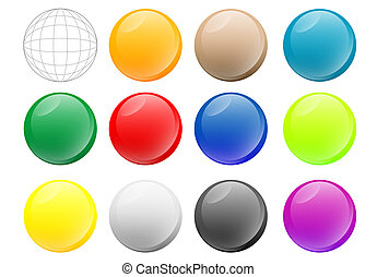 orbs - A collection of orbs with gel/glass effect. Useful...