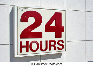 24 Hours - Service night and day...