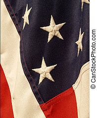 American flag - a portion of the flag of the United States...