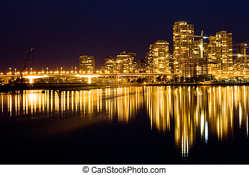 Golden Vancouver - Luxury living in modern buildings,...