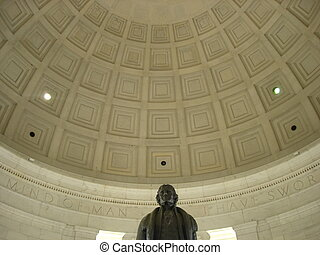 Jefferson Memorial in Washington DC