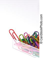 Colorful Paper Clip - Paper Clip