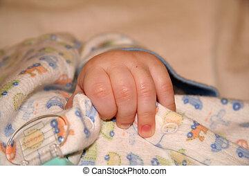 Newborn Baby\\\'s Hand