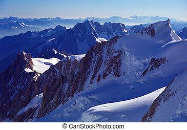 Aiguille du Midi - Aiguille Du Midi, Haute Savoie, France.