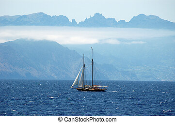 Arriving at the Madeira Island