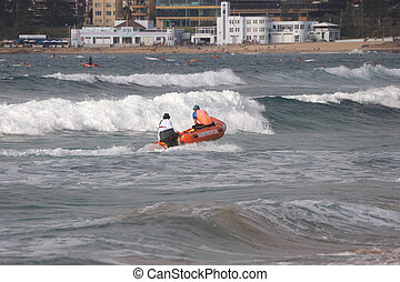 Surf Rescue - Inflatable Rescue Boat