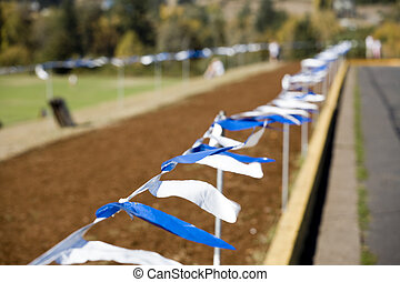 Stock Photo of a Cross Country Course