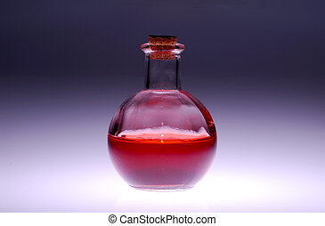 Glass Bottle - Photo of a Glass Medical Bottle