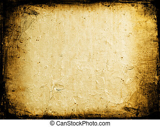 Grunge background with peeling paint texture