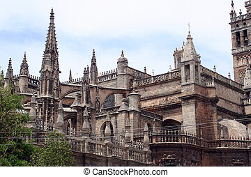 Seville Cathedral - This is an image of Seville Cathedral...