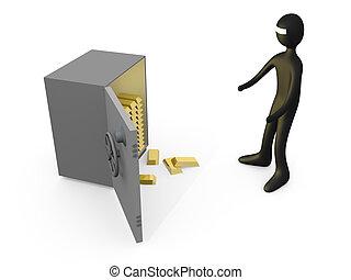 Open the vault #2.