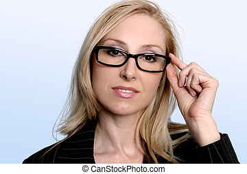 Intelligent professional businesswoman - Professional...