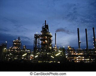 Oil Industry - giant of oil and refinary industry in...