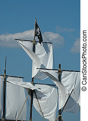 Pirat flag - Sails and pirat flag