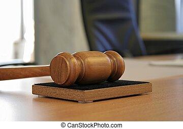 judge hammer - court