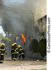 bombeiros, trabalho, 2