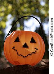 pumpkin on brick V