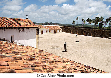 Fort Orange - Itamaraca Island, Fort Orange, Pernambuco,...