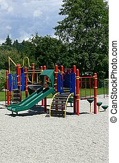 playground - and emptly playground
