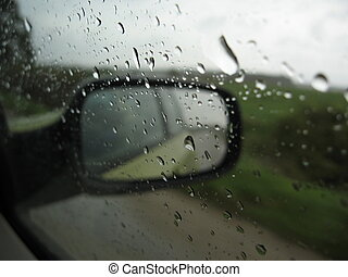 Rainy day - Driving in a rainy day