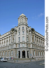 Old Building in Liverpool England UK