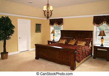 Bedroom - Elegant bedroom in upscale home