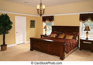 Bedroom - Elegant bedroom in upscale home