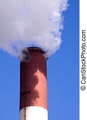 Chimney 1 - Chimney of a power plant