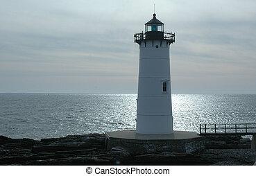 Portsmouth Light - Portsmouth Harbor Lighthouse, Portsmouth,...