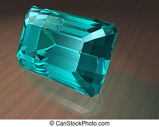 Aquamarine gemstone - Birthstone for March- Aquamarine