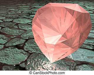 Garnet gemstone - Birthstone for January- Rose Garnet