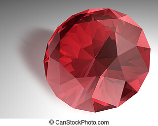 Ruby gemstone - Birthstone for July- Red Ruby