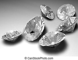 Loose diamonds - Unmounted diamond gemstones