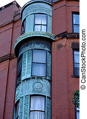 ornate rounded bay windows one - ornate rounded bay windows...