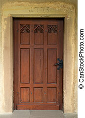 old door - old antique door