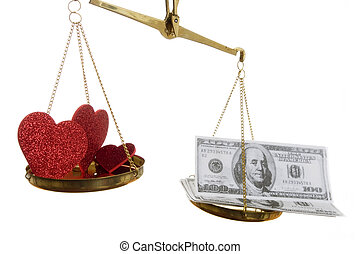 For love or Money - The question in which money wins