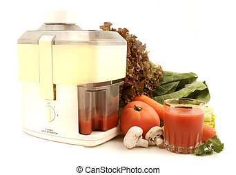 vegetable juicer - delicious and healthy variety of...