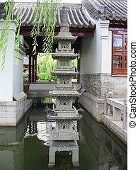 Chinese Pagoda at China town, Sydney