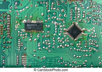 electronic board - Board containing several electronic...